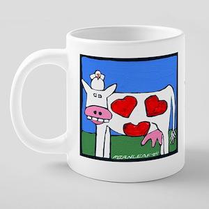 CUPlovecow 20 oz Ceramic Mega Mug