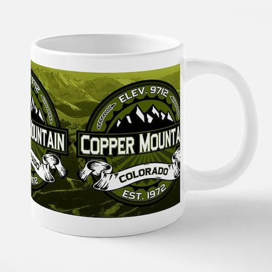 Copper Mountain Olive Mug C 20 oz Ceramic Mega Mug