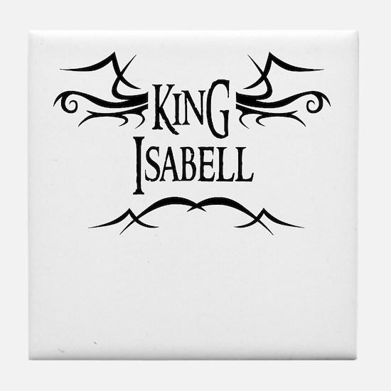 King Isabell Tile Coaster