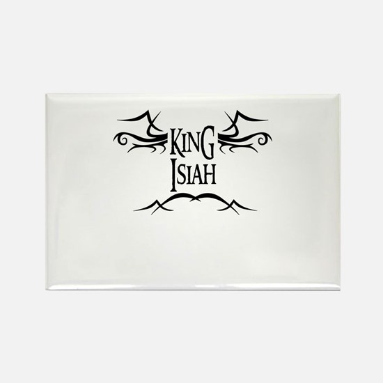 King Isiah Rectangle Magnet
