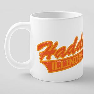 Haddonfield2_distress 20 oz Ceramic Mega Mug