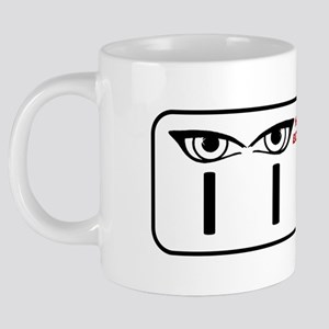 The IIES Logo 20 oz Ceramic Mega Mug
