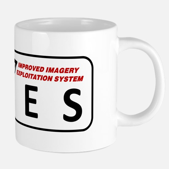 The IIES Logo 20 oz Ceramic Mega Mug