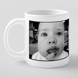 Messy Babe Face Cheryls Caf 20 oz Ceramic Mega Mug