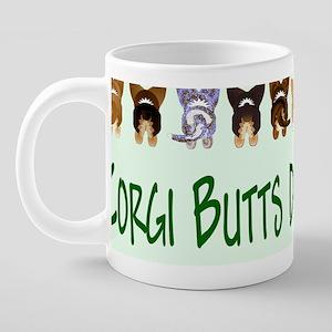 Mug 8 31 by 3 x1 Green 20 oz Ceramic Mega Mug