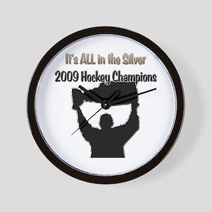 2009 Hockey Champions Wall Clock