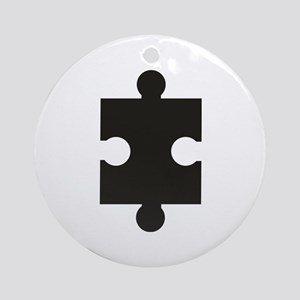 jigsaw puzzle Ornament (Round)