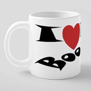 3x8_NY_BOOBIES_2 20 oz Ceramic Mega Mug