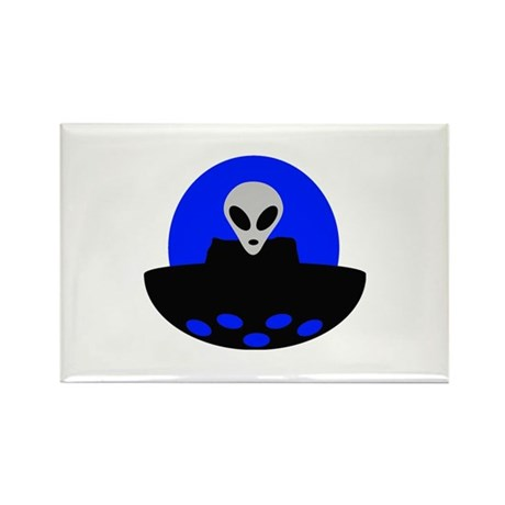 ufo alien area 51 Rectangle Magnet (10 pack)
