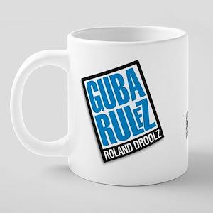 HOCP_guba_rulz_mug 20 oz Ceramic Mega Mug