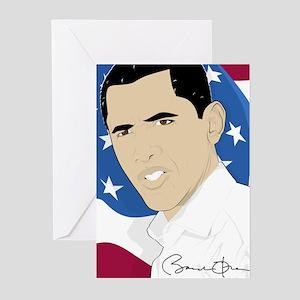 Barack Obama 2011 Greeting Cards (Pk of 10)