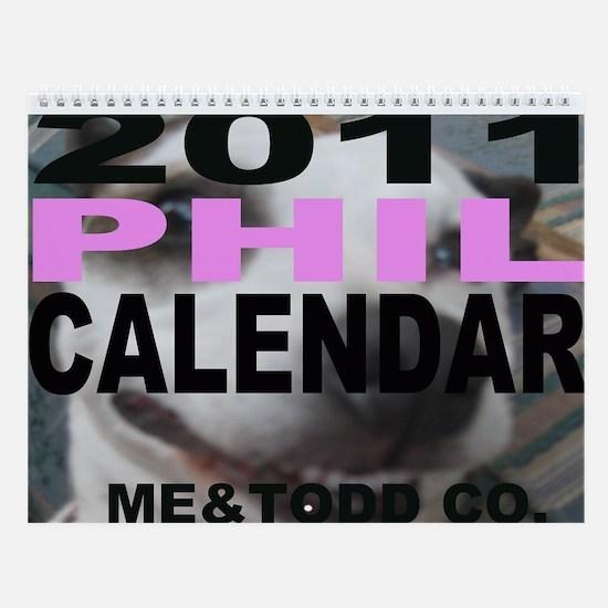 Me&Todd's 2010 Calendar