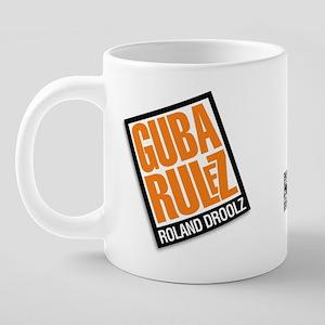 HOCP_guba_rulz_mug_o 20 oz Ceramic Mega Mug