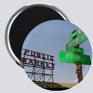 """Seattle Pike Place Market - 2.25"""" Magnet (10 pack)"""