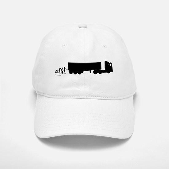 Truck Evolution Baseball Baseball Cap