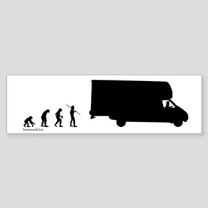 RV Evolution Bumper Sticker (10 pk)