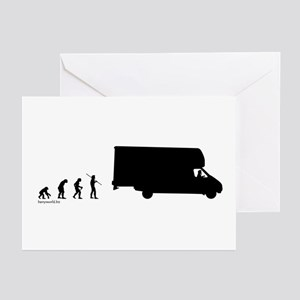 RV Evolution Greeting Cards (Pk of 20)
