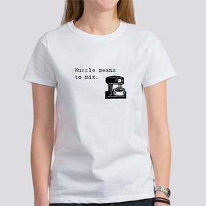 Wuzzle Means to Mix Women's T-Shirt