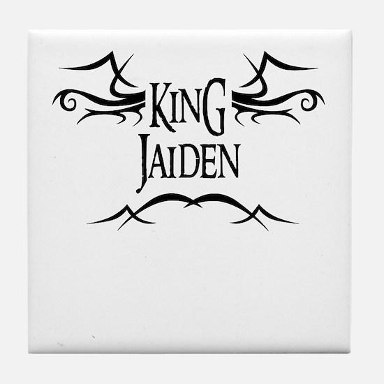 King Jaiden Tile Coaster
