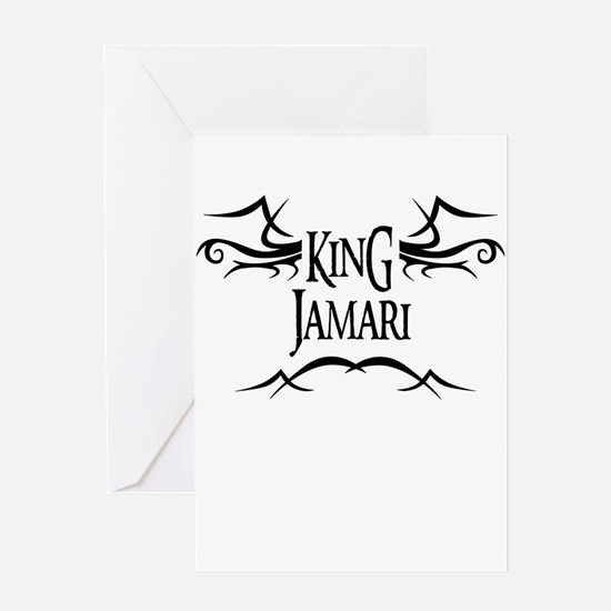 King Jamari Greeting Card