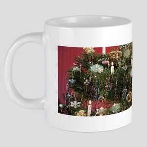 christmas tree 20 oz Ceramic Mega Mug