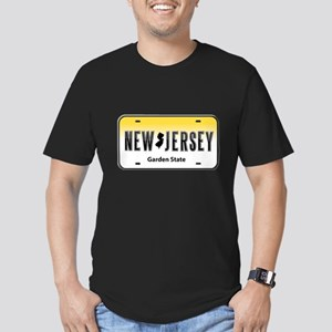 New Jersey Men's Fitted T-Shirt (dark)