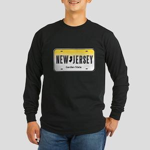 New Jersey Long Sleeve Dark T-Shirt