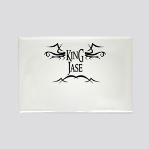King Jase Rectangle Magnet