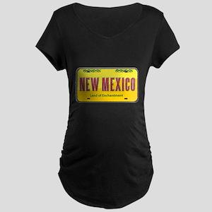 New Mexico Maternity Dark T-Shirt