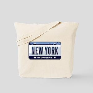 New York Plate Tote Bag