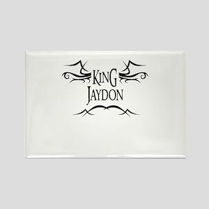 King Jaydon Rectangle Magnet