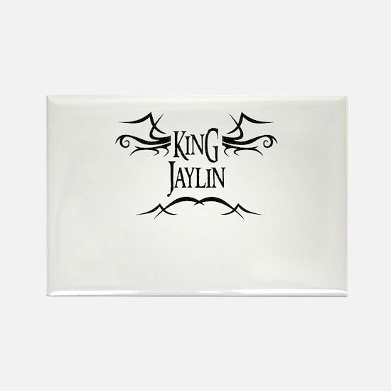 King Jaylin Rectangle Magnet