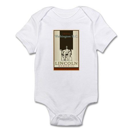 Travel Washington DC Infant Bodysuit