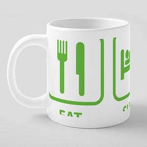 EatSleepDroid1D 20 oz Ceramic Mega Mug