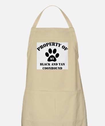 My Black and Tan Coonhound BBQ Apron