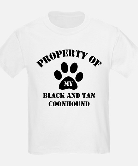 My Black and Tan Coonhound Kids T-Shirt