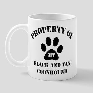 My Black and Tan Coonhound Mug