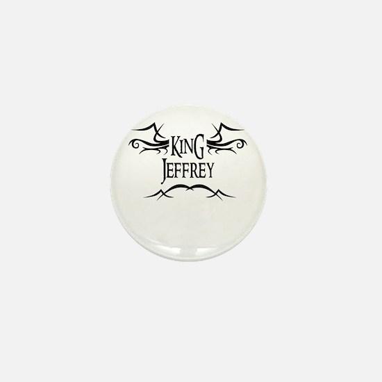 King Jeffrey Mini Button