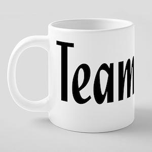 team jolie 20 oz Ceramic Mega Mug