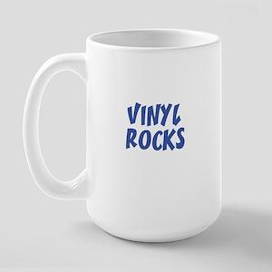 VINYL ROCKS Large Mug