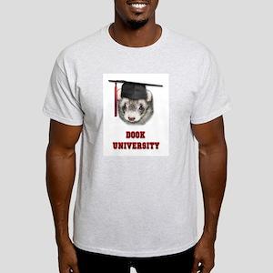 Ferret Graduation Dook Univer Light T-Shirt