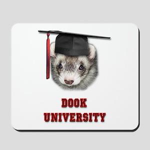 Ferret Graduation Dook Univer Mousepad