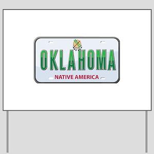 Oklahoma Yard Sign