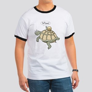 """Turtle and Snail """"Whee!"""" Ringer T"""
