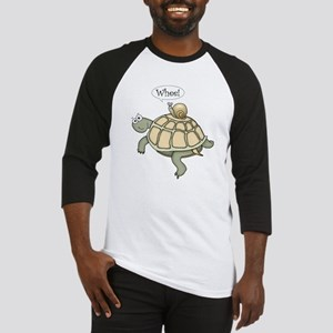 "Turtle and Snail ""Whee!"" Baseball Jersey"