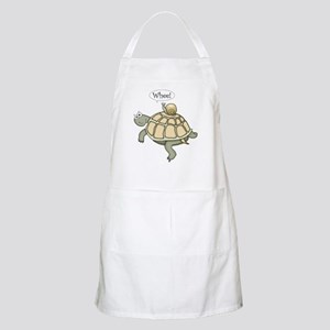 """Turtle and Snail """"Whee!"""" BBQ Apron"""