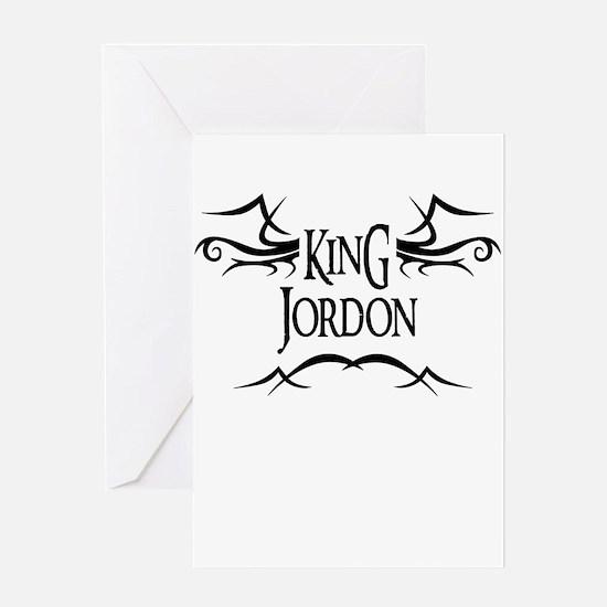 King Jordon Greeting Card