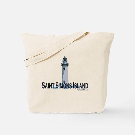 St. Simons Island GA Tote Bag