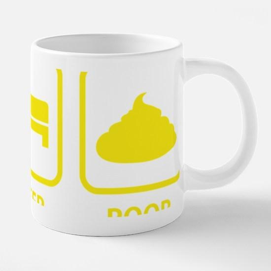 EatSleepPoop1E.png 20 oz Ceramic Mega Mug