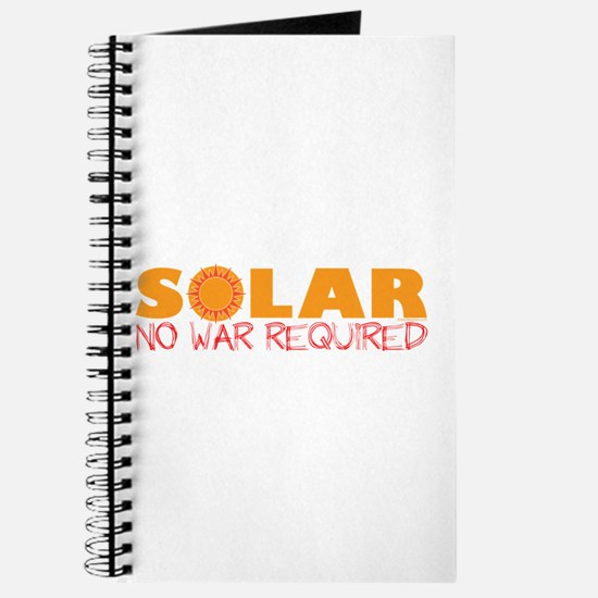 Solar Energy No War Journal